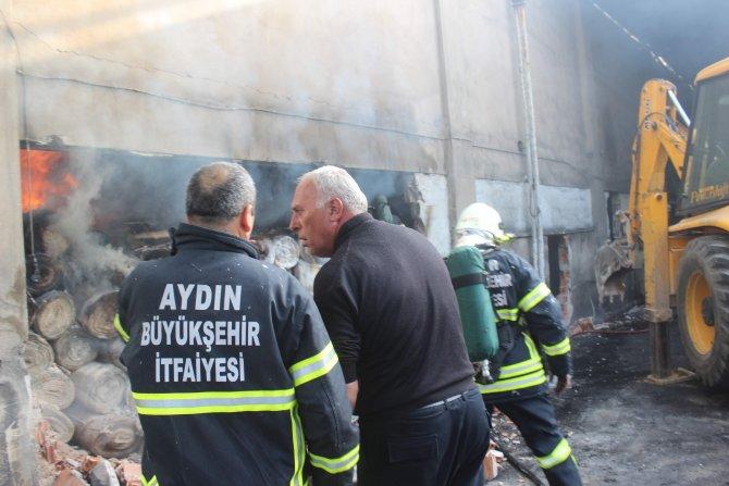 Aydın'da tekstil fabrikasında yangın