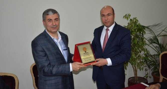 Başkan Aksoy AK Parti Teşkilatıyla Bir Araya Geldi