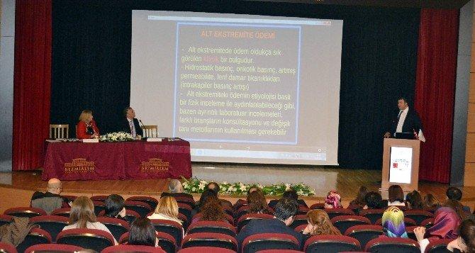 Bezmialem Vakıf Üniversitesi'nde Lenfödem Sempozyumu