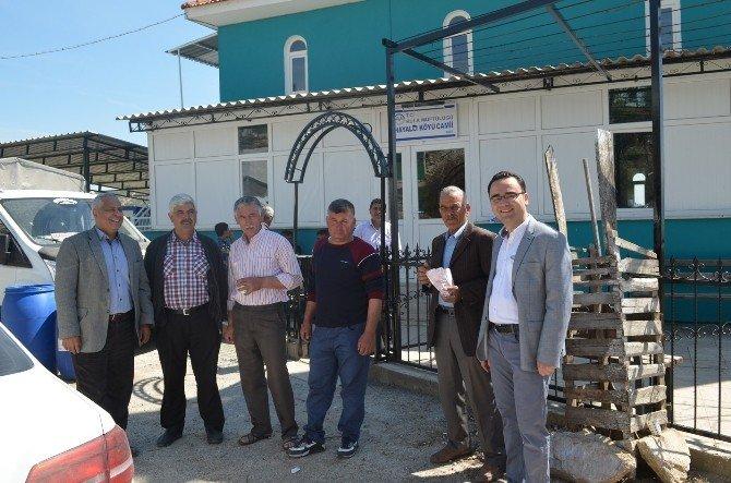 AK Partili Palabıyık Mahalle Ziyaretlerini Sürdürüyor