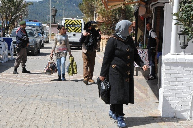 Çanakkale'de 45 Kaçak Yakalandı