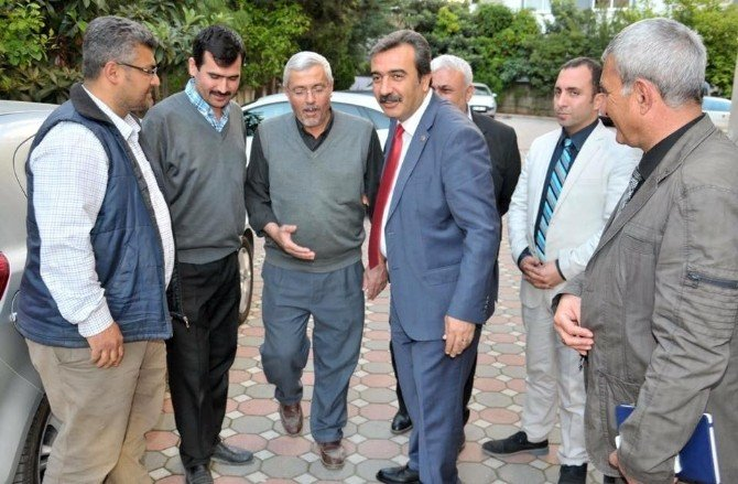 Başkan Çetin'den Çatkapı Denetim