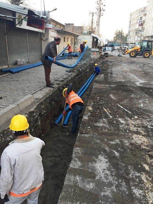 Diyarbakır'da Elektrik Şebekesi Yeraltına Alınıyor