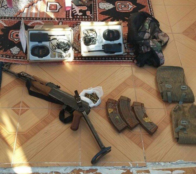 Bismil'de Silah Ve Mühimmat Ele Geçirildi