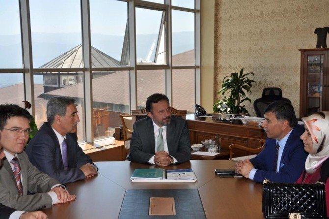 Başkan Mustafa Koca : Üniversite Öğrencilerini Birer Kültür Elçisi Olarak Görüyoruz