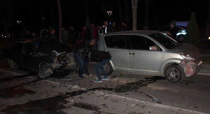 Elazığ'da 5 Aracın Karıştığı Kazada 6 Kişi Yaralandı