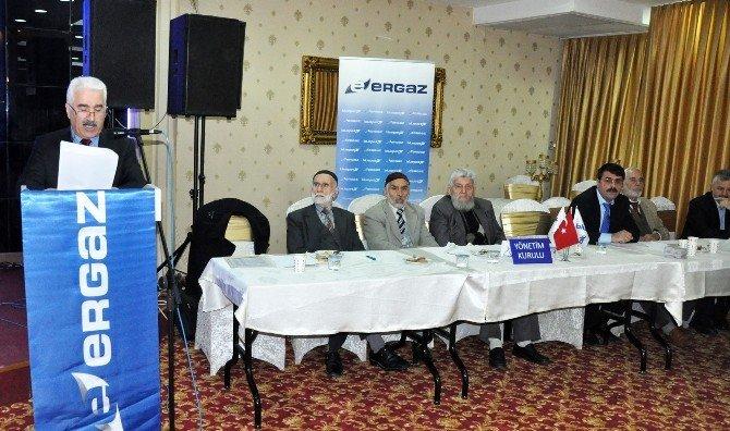 Ergaz'da, Abubekir Yağız Yönetimi Güven Tazeledi