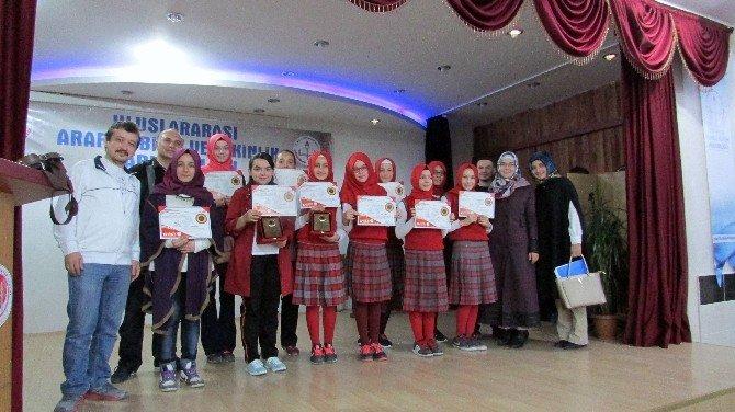 Gediz 1 Eylül İmam Hatip Ortaokulu Arapça Yarışmalarında Üçüncü