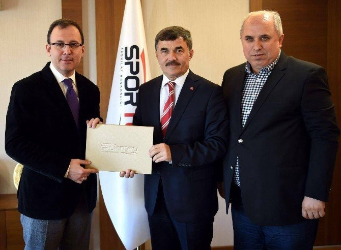 Yayladağı Belediyesi'ne 300 Bin Liralık Spor Hibesi