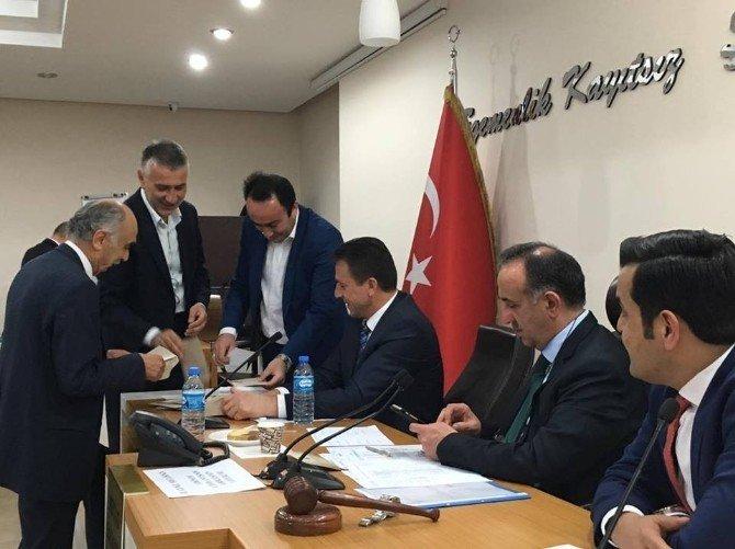 Giresun İl Genel Meclisi'nde Yeni Dönem Seçimleri Yapıldı