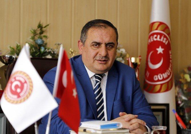 Gümüşhane İl Genel Meclisi Başkanı Şerif Bayraktar Güven Tazeledi