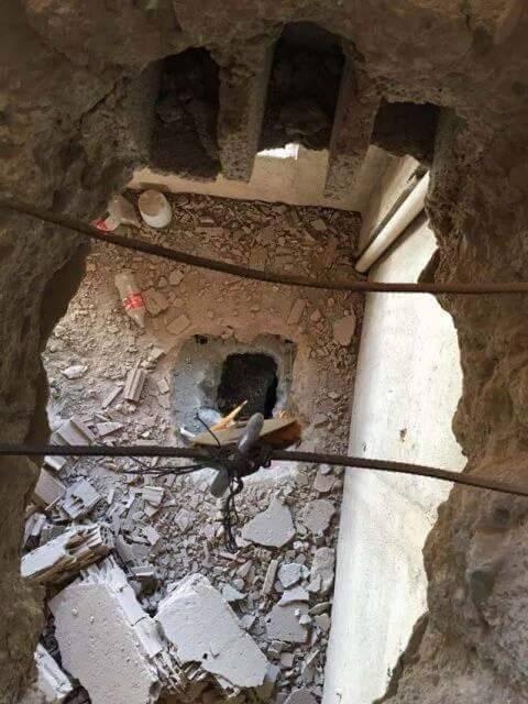 PKK'lılar Binalarda Katları Delerek İple Kaçmaya Çalışıyor