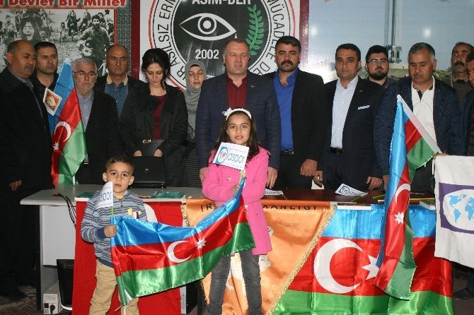 Iğdır'daki STK'lardan Azerbaycan'a Destek