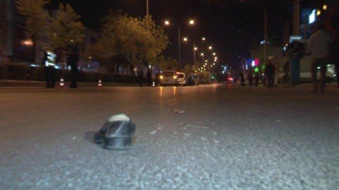 Otomobilin Çarptığı Adam Yüz Metre Savrularak Hayatını Kaybetti