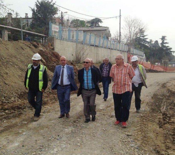 Başkan Altınok Öz, Marmaray Projesinin İnşaat Çalışmalarını İnceledi