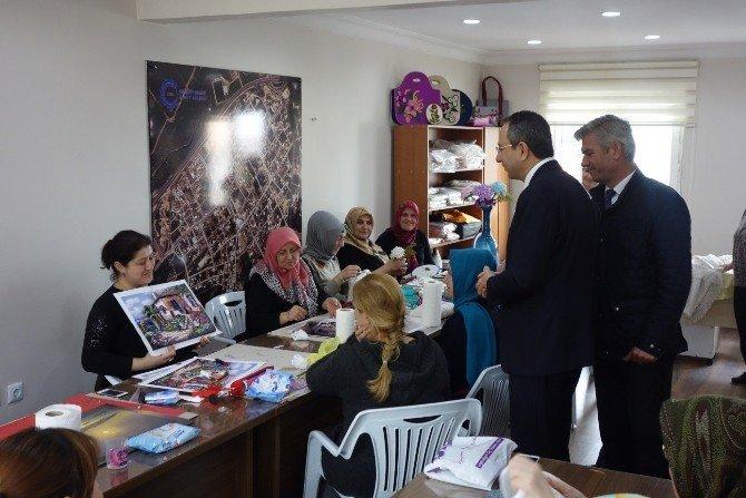 Kaymakam Kubilay'dan Muhtar Ziyaretleri