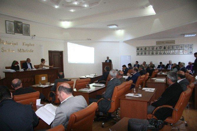 Belediye Meclisi Nisan Ayı Olağan Meclis Toplantısı Yapıldı