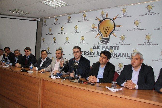 Mersin AK Parti'de Devir Teslim