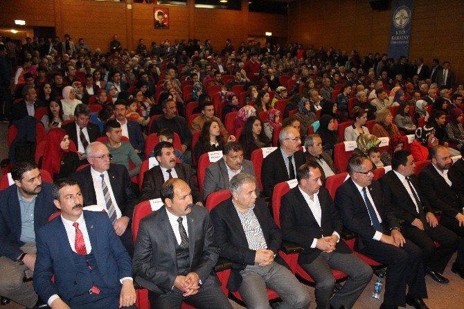 Alparslan Türkeş Konya'da Anıldı