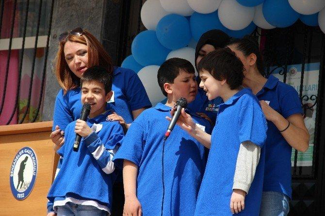 Gazi'nin Otistik Çocuklarından Müzik Ziyafeti