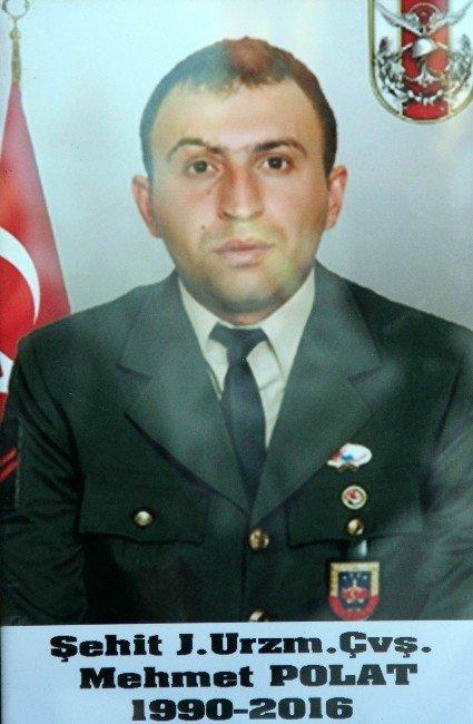 Şehit Uzman Çavuş Mehmet Polat Son Yolculuğuna Uğurlandı