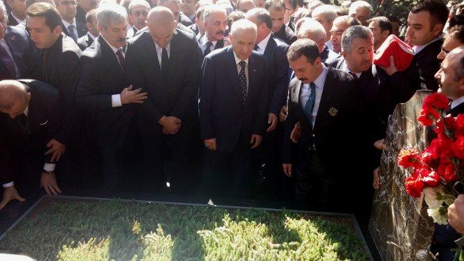 Bahçeli: Türkeş, zalimler karşısında hiçbir zaman el pençe divan durmadı