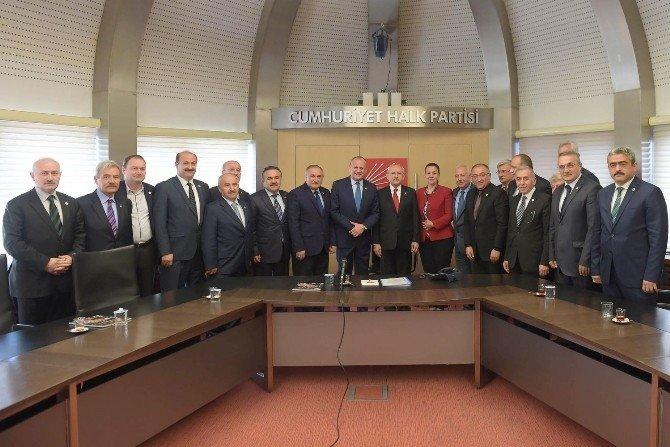 TBB Birliği Yönetimi, CHP Genel Başkanı Kemal Kılıçdaroğlu'nu Ziyaret Etti