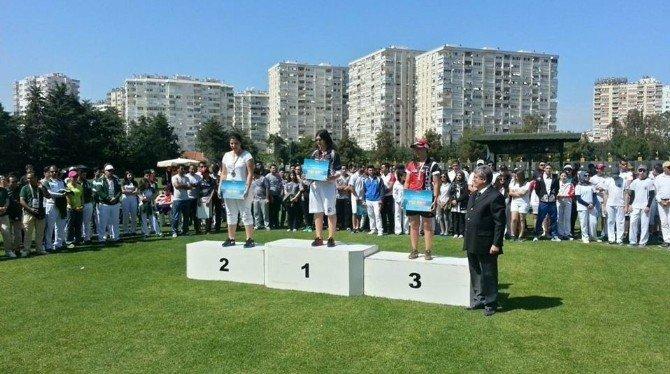 Aleyna Akçınar, Mersin'e Gümüş Madalya Kazandırdı