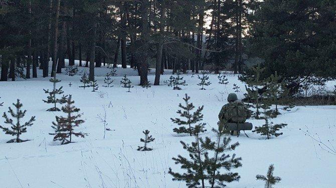 """9'uncu Komando Tugay Komutanlığı Tarafından """"Şamdancı-8"""" Operasyonu İcra Edildi"""