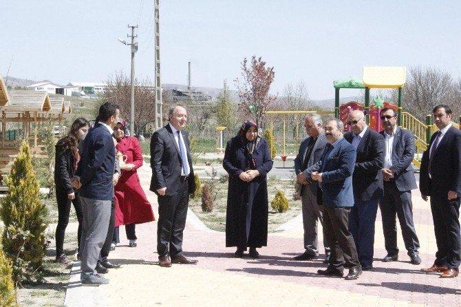 Sungurlu'da Şehit İsmi Parka Verildi