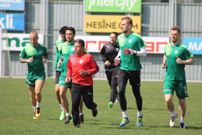 Bursaspor, Beşiktaş hazırlıklarına başladı
