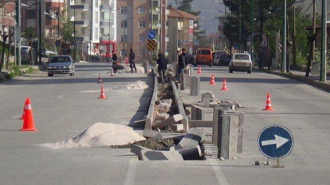U Dönüşü Kazalarının Yaşandığı Yolda Önlem