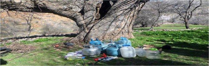 Tunceli'de PKK sığınağına operasyon