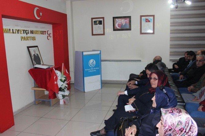 Alparslan Türkeş Ölümünün 19. Yıldönümünde Erzincan'da Anıldı