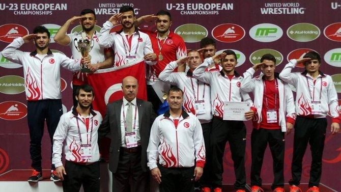 Serbest stilde ümit takımı Avrupa 3. oldu