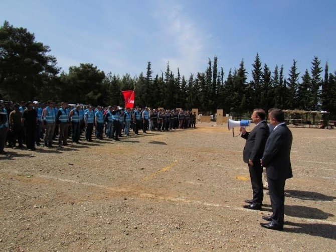 Vali Türker'den Özel Harekat Polislerine Moral Ziyareti