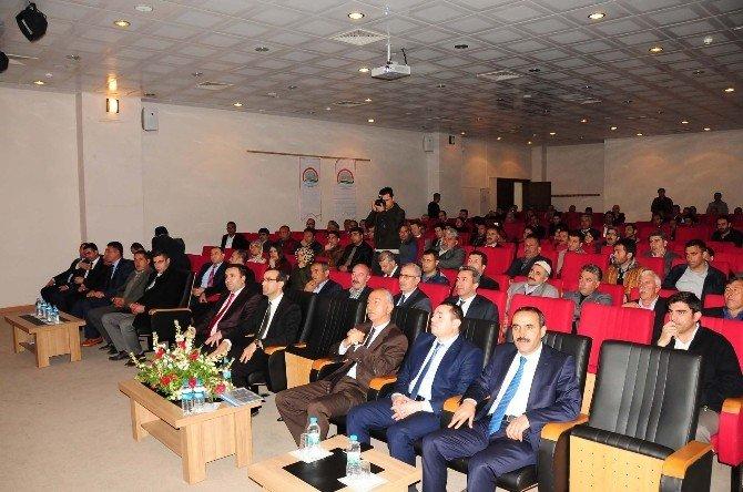 Muş'ta Yem Bitkileri Üretimi Konferansı