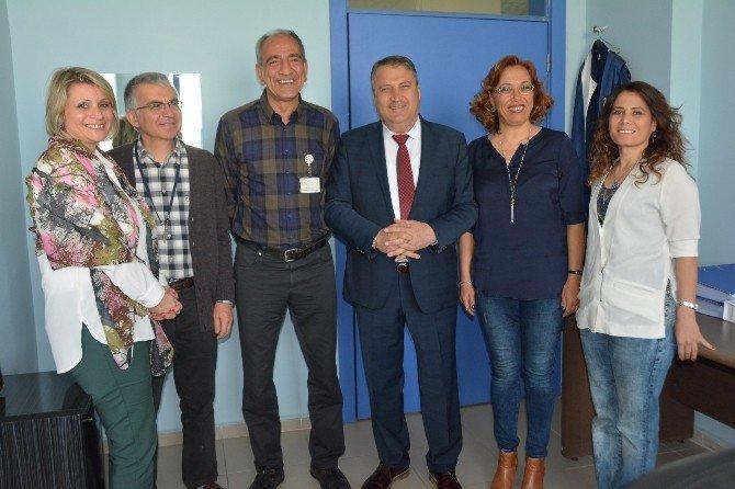 Doktor Başkan'dan Kanser Hastalarına Ziyaret