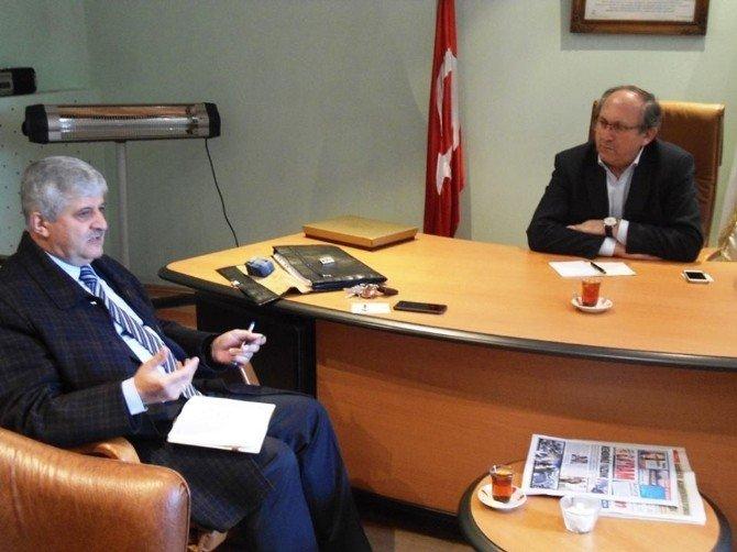 Prof.dr Fahri Yavuz'dan Dagc'ye Ziyaret