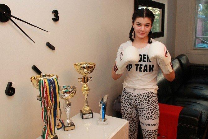 İsveç'te Muay Thai'nin Yeni Yıldızı Nazlı Suvakçı