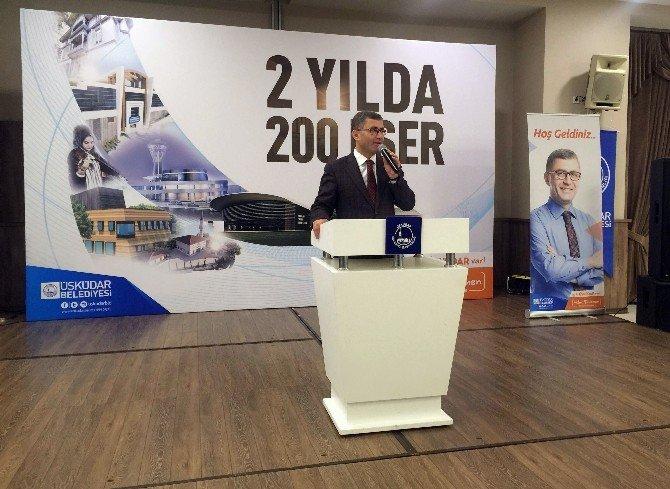 """Başkan Türkmen: """"Üsküdar'da Nefes Alan, Üsküdar'a Nefes Vermeli"""""""