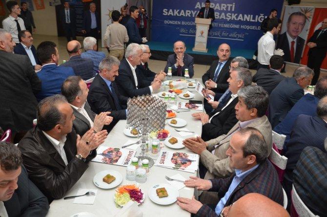 AK Parti Sakarya Teşkilatı'ndan vefa yemeği