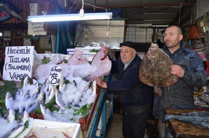 Trabzon'da Balıkta Hediyelik Dönemi