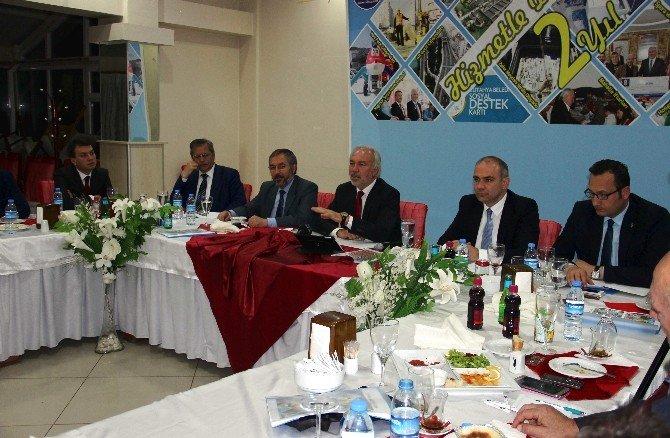 Başkan Kamil Saraçoğlu 2 Yıllık Çalışmaları Değerlendirdi