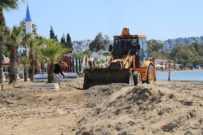Bitez'de Sahil Düzenleme Çalışmaları