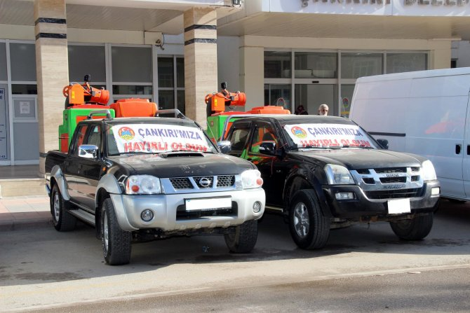 Çankırı Belediyesi'nde haşere ile mücadelede yeni dönem