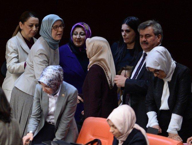 Meclis'te Bakan Ramazanoğlu'na Destek