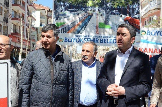 CHP İl Başkanı Kiraz, Kanalboyu'ndaki Çalışmaları Eleştirdi