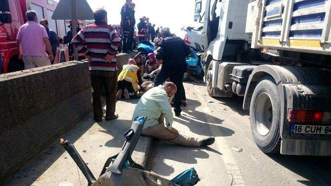 D-100 Karayolu'nda Can Pazarı: 1 Ölü, 4 Yaralı