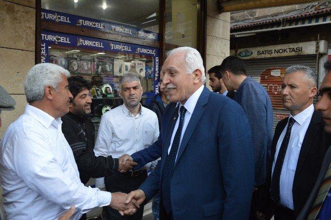 SP Genel Başkanı Kamalak Diyarbakır'da